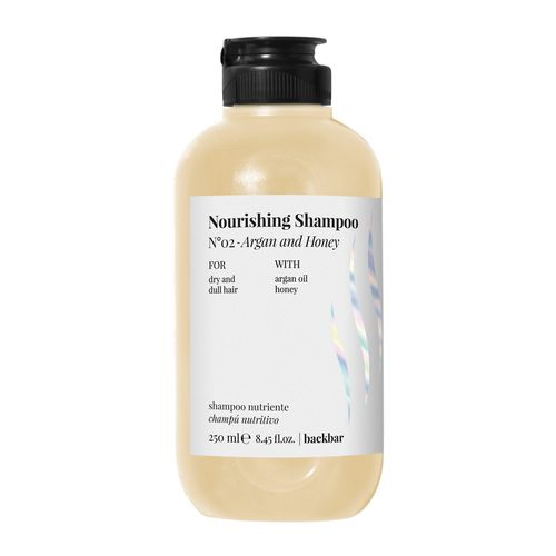 Back-Bar-Nourising-Shampoo--Argan-And-Honey-250-ML