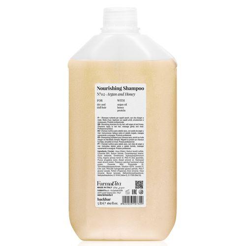 Back-Bar-Nourising-Shampoo--Argan-And-Honey-5000-ML